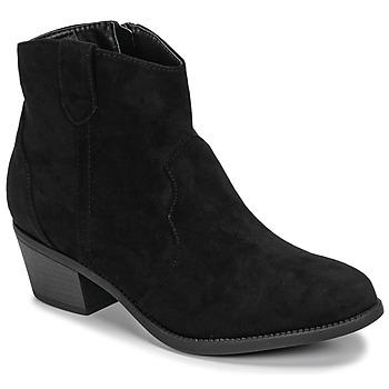 kengät Naiset Bootsit Moony Mood NINITE Musta