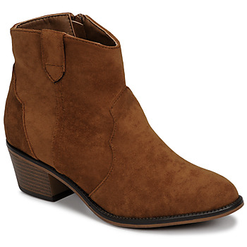 kengät Naiset Bootsit Moony Mood NINITE Camel