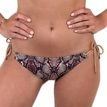 vaatteet Naiset Bikinit LPB Woman 005BAS / SNAKE ROSE Vaaleanpunainen