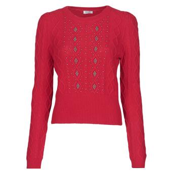 vaatteet Naiset Neulepusero Liu Jo MF0156-MA88J Punainen