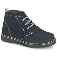 kengät Pojat Bootsit Citrouille et Compagnie LEQUIN Blue