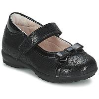 kengät Tytöt Balleriinat Citrouille et Compagnie TETRAS Black