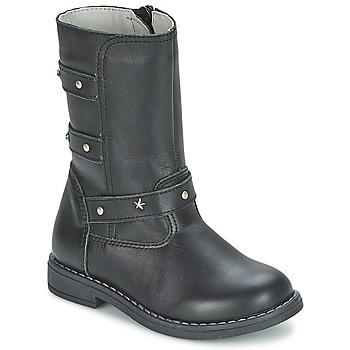 kengät Tytöt Saappaat Citrouille et Compagnie ELZA Black