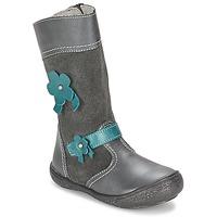 kengät Tytöt Saappaat Citrouille et Compagnie RINDAR Grey