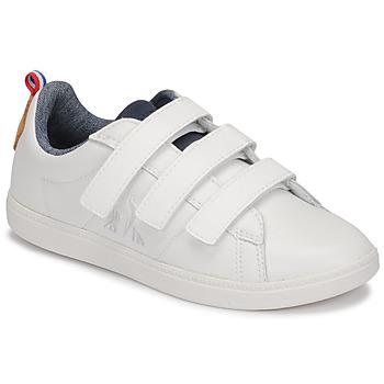 kengät Lapset Matalavartiset tennarit Le Coq Sportif COURTCLASSIC PS White
