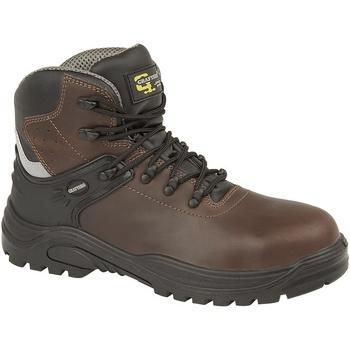 kengät Miehet Saappaat Grafters  Dark Brown
