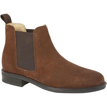 kengät Miehet Bootsit Roamers  Tan Suede