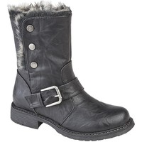kengät Naiset Talvisaappaat Cipriata  Black