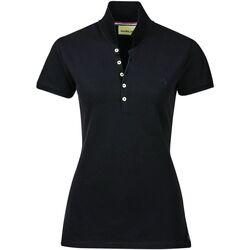 vaatteet Naiset Lyhythihainen poolopaita Dublin  Black