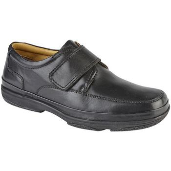 kengät Miehet Matalavartiset tennarit Roamers  Black