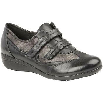 kengät Naiset Matalavartiset tennarit Boulevard  Black/Pewter