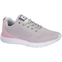 kengät Naiset Matalavartiset tennarit Dek  Grey/Pale Pink