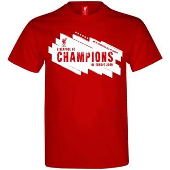 vaatteet Miehet Lyhythihainen t-paita Liverpool Fc  Red