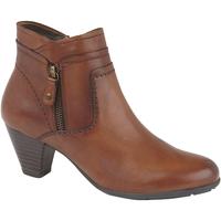 kengät Naiset Nilkkurit Cipriata  Tan