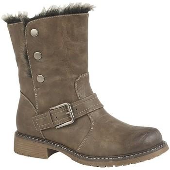kengät Naiset Talvisaappaat Cipriata  Brown
