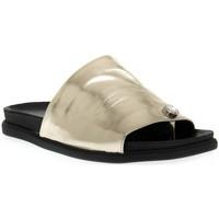 kengät Naiset Sandaalit Sono Italiana LAMINATO PLATINO Grigio