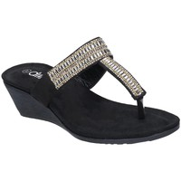 kengät Naiset Varvassandaalit Divaz  Black