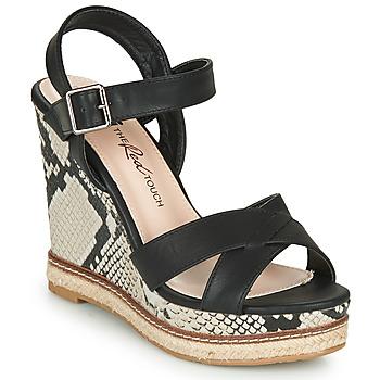 kengät Naiset Sandaalit ja avokkaat Xti  Musta