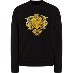 vaatteet Miehet Svetari Versace B7GVB7EB Musta