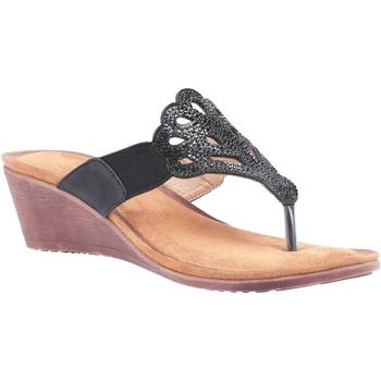 kengät Naiset Sandaalit ja avokkaat Divaz  Black