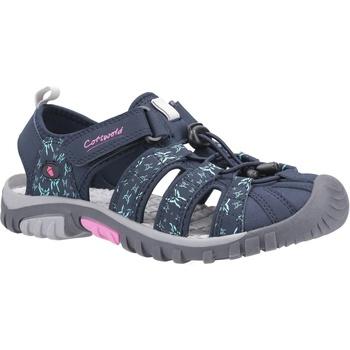 kengät Naiset Sandaalit ja avokkaat Cotswold  Navy/Pink