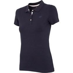 vaatteet Naiset Lyhythihainen t-paita 4F NOSH4 TSD008 Granat Tummansininen