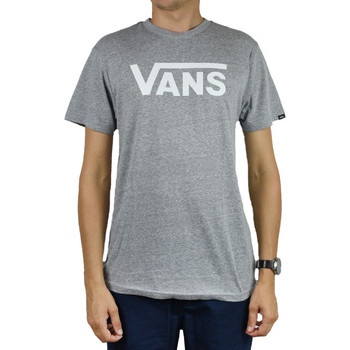 vaatteet Miehet Lyhythihainen poolopaita Vans Classic Heather Athletic Tee VN0000UMATH