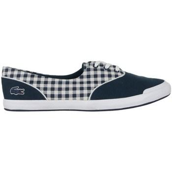 kengät Naiset Matalavartiset tennarit Lacoste Lancelle Lace 3 Eye 216 1 Spw Valkoiset, Tummansininen
