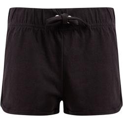vaatteet Lapset Shortsit / Bermuda-shortsit Skinni Fit SM069 Black/ Black