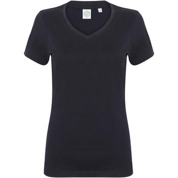 vaatteet Naiset Lyhythihainen t-paita Skinni Fit SK122 Navy