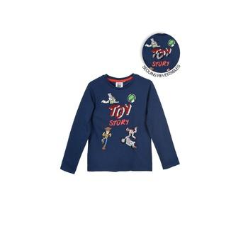 vaatteet Pojat T-paidat pitkillä hihoilla TEAM HEROES  TOY STORY Laivastonsininen