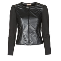 vaatteet Naiset Takit / Bleiserit Moony Mood NAMOUR Black