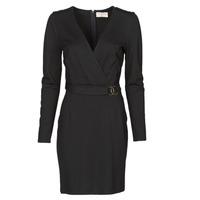 vaatteet Naiset Lyhyt mekko Moony Mood NAMITIE Black