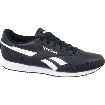 kengät Miehet Matalavartiset tennarit Reebok Sport Royal CL Jogger 3 Valkoiset, Mustat