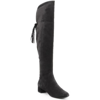 kengät Naiset Ylipolvensaappaat Geox D N.Carey B D644AB-00022-C9999 black