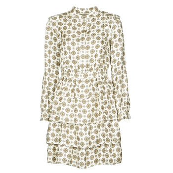 vaatteet Naiset Lyhyt mekko MICHAEL Michael Kors LUX MEDLN PINDOT DRS Beige