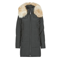 vaatteet Naiset Toppatakki MICHAEL Michael Kors ELEVATED DOWN FUR COLLAR HOOD Black