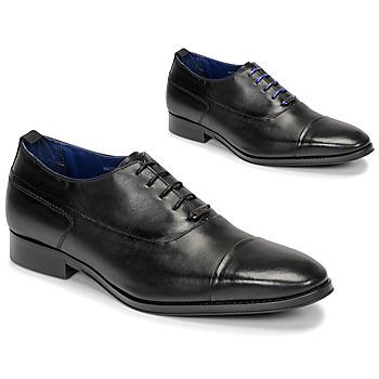 kengät Miehet Herrainkengät Azzaro LITCHI Musta