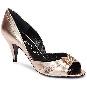 kengät Naiset Korkokengät Karine Arabian MONTEREY Pink / Metallinen