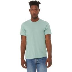 vaatteet Miehet Lyhythihainen t-paita Bella + Canvas CA3413 Dusty Blue Triblend