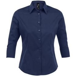 vaatteet Naiset Paitapusero / Kauluspaita Sols 17010 Dark Blue