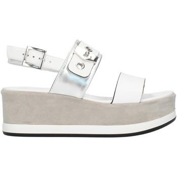 kengät Naiset Sandaalit ja avokkaat Nero Giardini E012470D White and silver