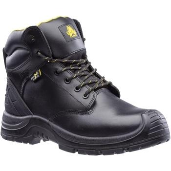 kengät Miehet Turvakenkä Amblers Safety  Black