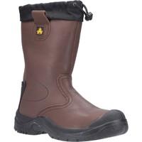 kengät Miehet Turvakenkä Amblers Safety  Brown