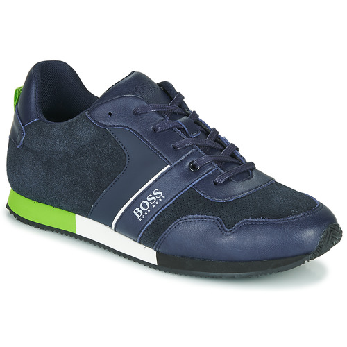 kengät Pojat Matalavartiset tennarit BOSS J29225 Sininen