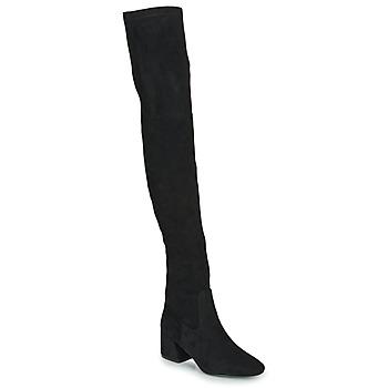 kengät Naiset Ylipolvensaappaat Vanessa Wu CUISSARDES HAUTES Black