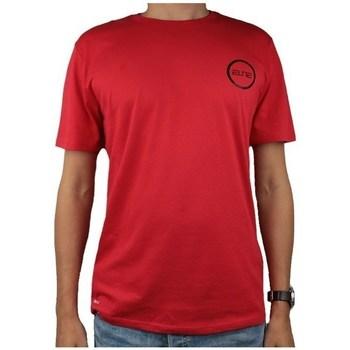vaatteet Miehet Lyhythihainen t-paita Nike Dry Elite Bball Tee Punainen
