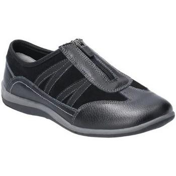 kengät Naiset Mokkasiinit Fleet & Foster  Black
