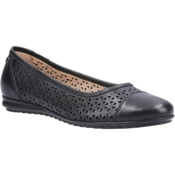 kengät Naiset Balleriinat Hush puppies  Black