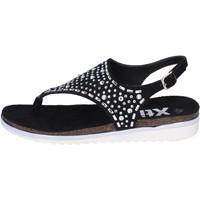 kengät Naiset Sandaalit ja avokkaat Xti sandali camoscio sintetico strass Nero